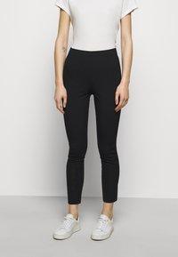 rag & bone - SIMONE PANT - Stoffhose - black - 0