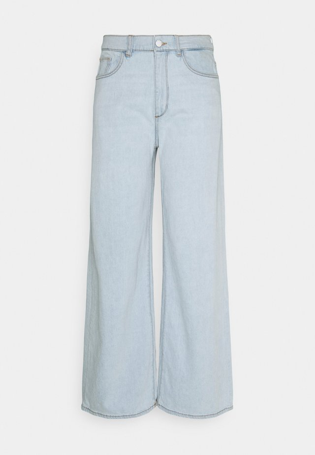 HEPBURN WIDE LEG HIGH RISE VINTAGE - Relaxed fit jeans - sea salt