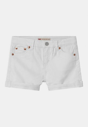 GIRLFRIEND - Denim shorts - white