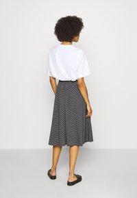 Opus - RENITA - A-line skirt - black - 2