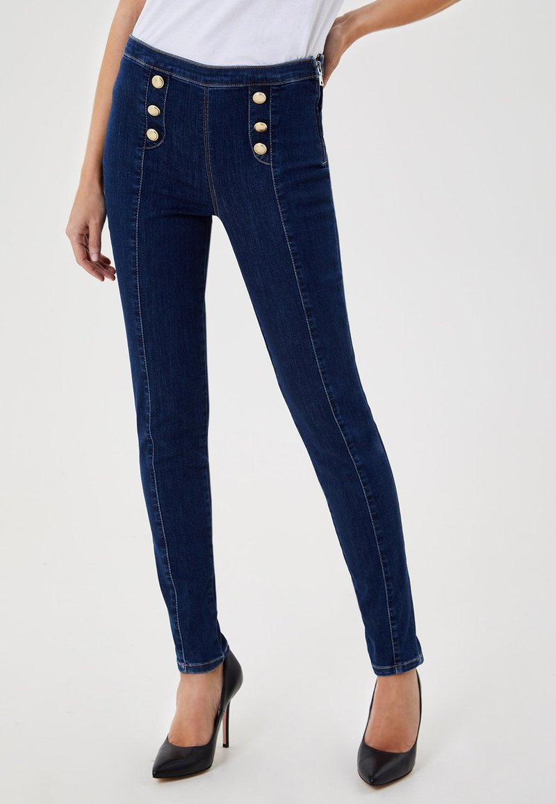LIU JO - Jeans Skinny Fit - blue denim