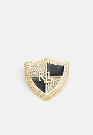 BOX PIN SHIELD - Accessoires - gold-coloured