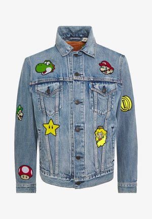 LEVI'S®SUPER MARIO THE TRUCKER JACKET - Cowboyjakker - blue denim