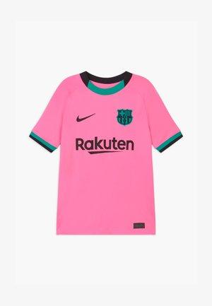 FC BARCELONA UNISEX - Klubové oblečení - pink beam/black