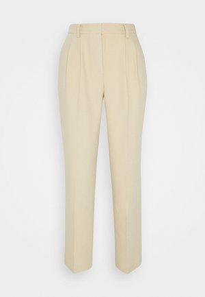 MATHILDE GØHLER SUIT PANTS - Pantalon classique - beige