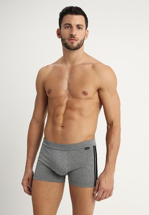 2 PACK - Pants - mottled grey/black
