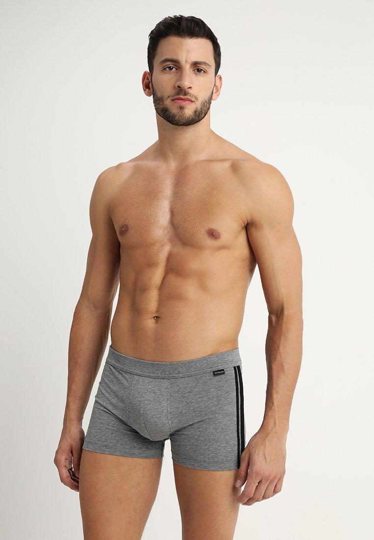 Schiesser - 2 PACK - Pants - mottled grey/black