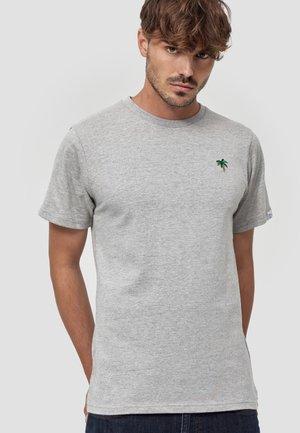 PALME - T-shirt basic - hellgrau