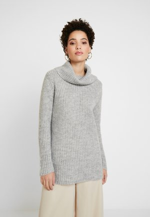 VNECK  - Strikkegenser - light grey