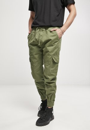 Cargo trousers - newolive