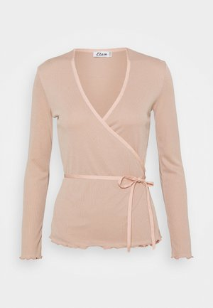 ELYSABETH - Pyžamový top - rose poudre
