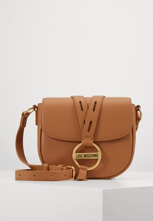 BORSA SCURO - Across body bag - camel