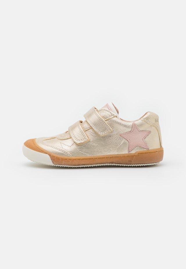 JENNA - Touch-strap shoes - platin