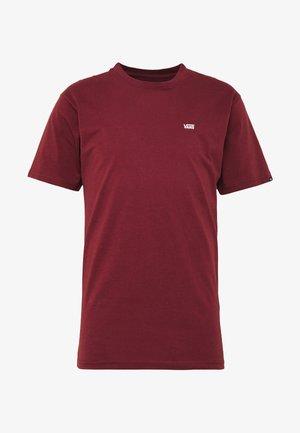 LEFT CHEST LOGO TEE - T-shirt basic - port royale/white