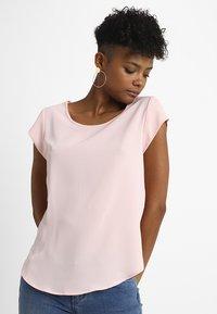 ONLY - ONLVIC SOLID  - Camiseta básica - rose quartz - 0