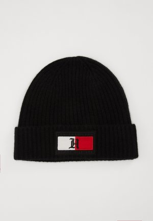 FLAG BEANIE - Bonnet - black