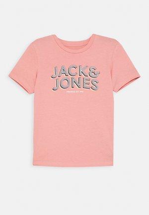 JORVENICEBEACH TEE CREW NECK  - T-shirt print - rosette