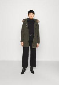 Dorothy Perkins - TRIM COAT - Winter coat - khaki - 1