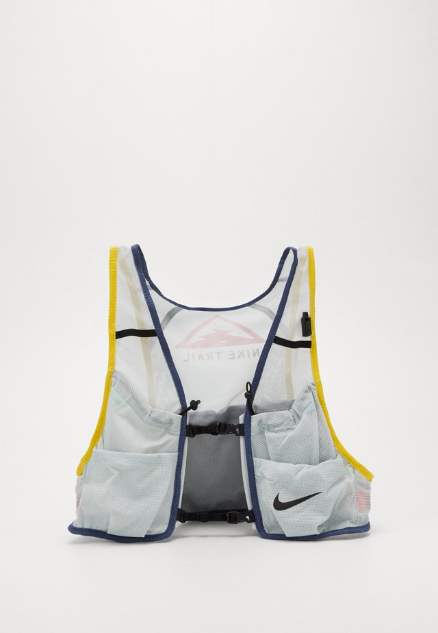 MENS RUNNING TRAIL VEST - Drikkesekk - aura/diffused blue/speed yellow/black