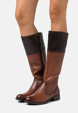 BOOTS - Boots - brandy/mocca
