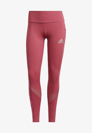 OWN THE RUN CELEBRATION RUNNING LANGE TIGHT. - Tights - pink