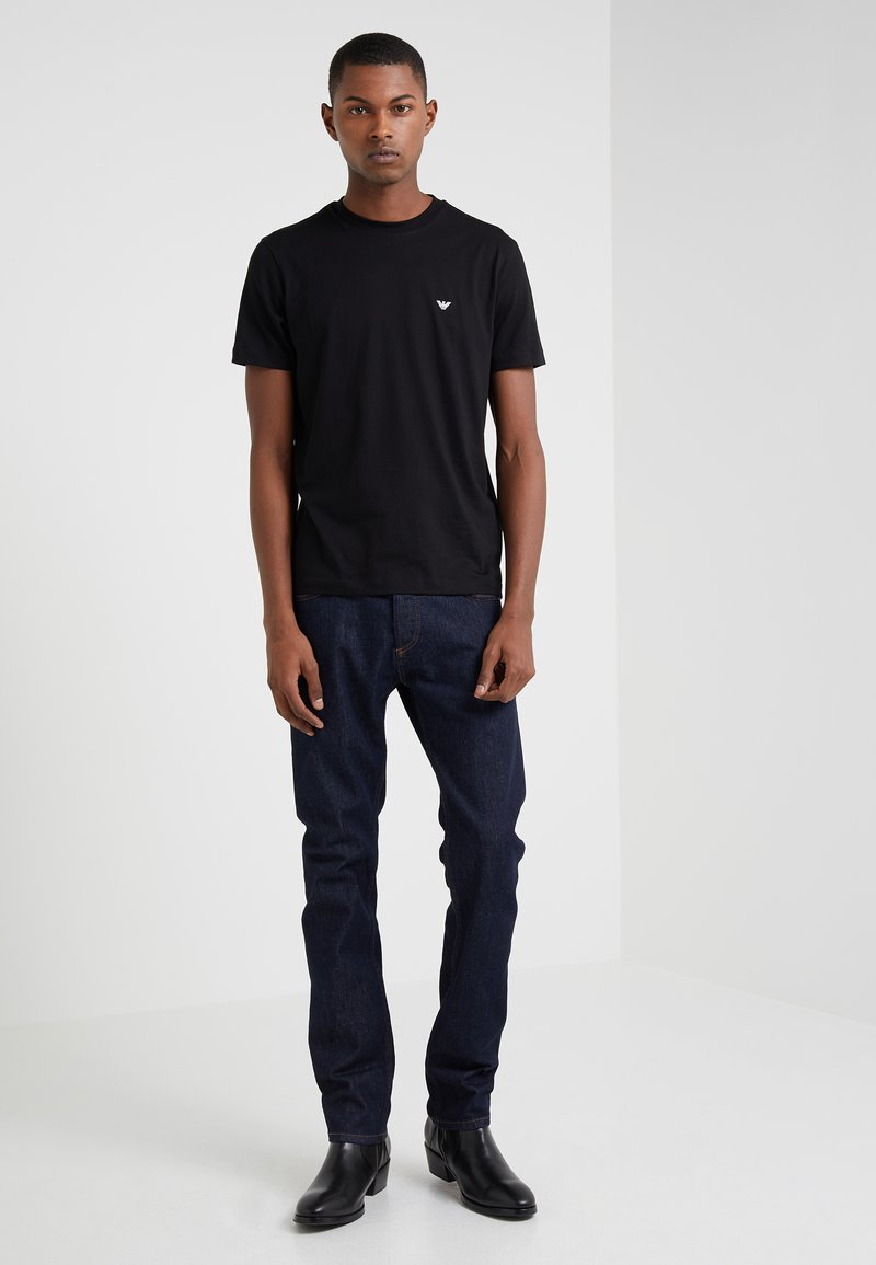 Emporio Armani - 2 PACK - T-shirt basic - black
