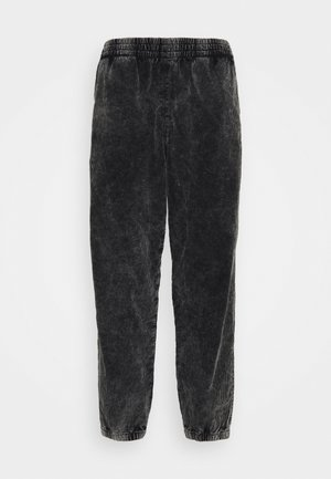 JON WASHED JOGGERS - Kangashousut - black