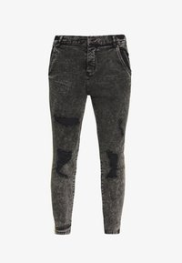 SIKSILK - DISTRESSED TAPED - Jeans Skinny Fit - faded grey - 3