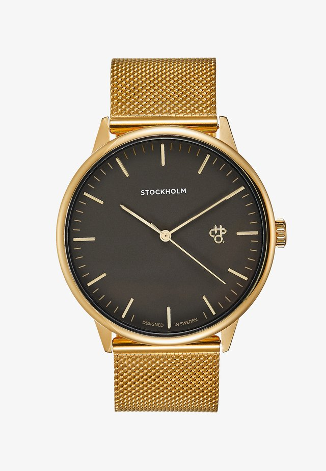 NANDO STOCKHOLM - Montre - gold-coloured/black