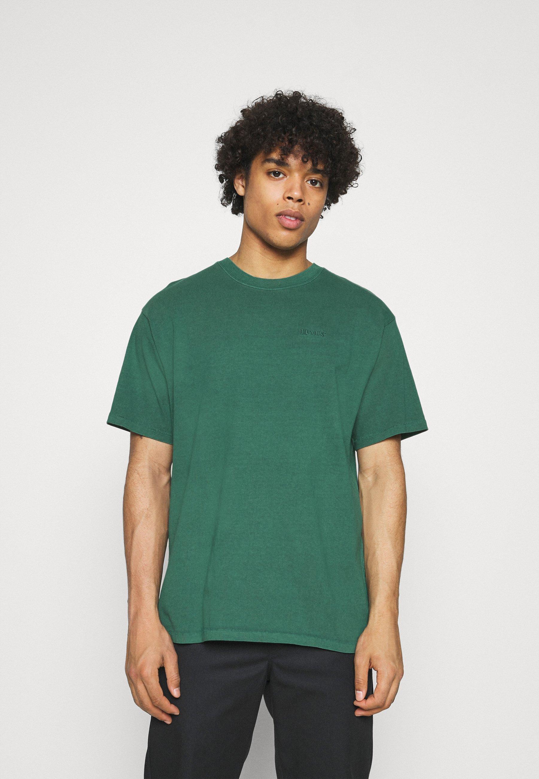 Men VINTAGE TEE - Basic T-shirt - forest biome