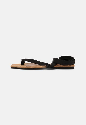 BROOKE - T-bar sandals - black