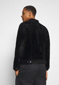 G-Star - SCUTAR SLIMJKT - Summer jacket - black iced flock - 2
