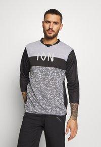 ION - TEE SCRUB - Sports shirt - black - 0