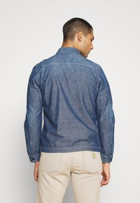 G-Star - SCUTAR DENIM OVERSHIRT - Džínová bunda - navy