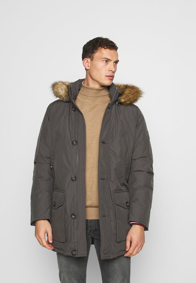 HAMPTON PARKA - Down coat - grey