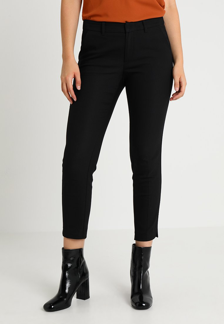 s.Oliver - SHAPE ANKLE - Trousers - black