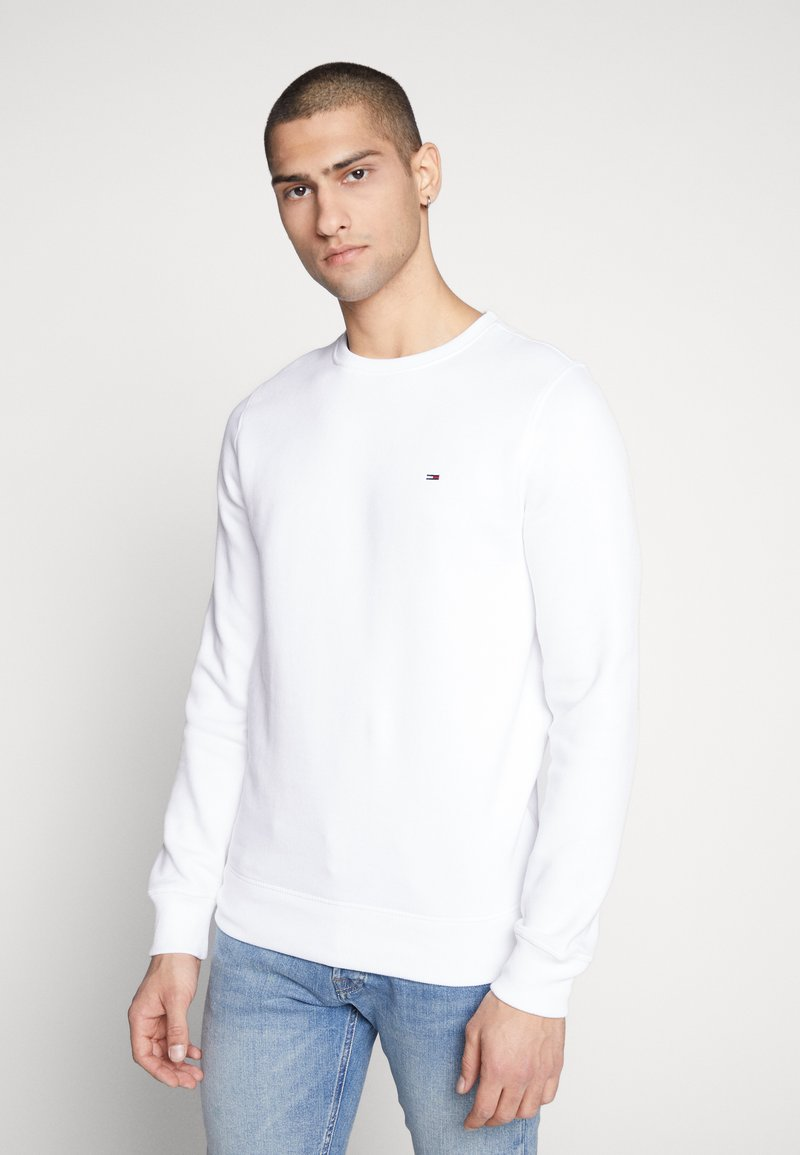 Tommy Jeans - ORIGINAL CREW - Sweater - classic white