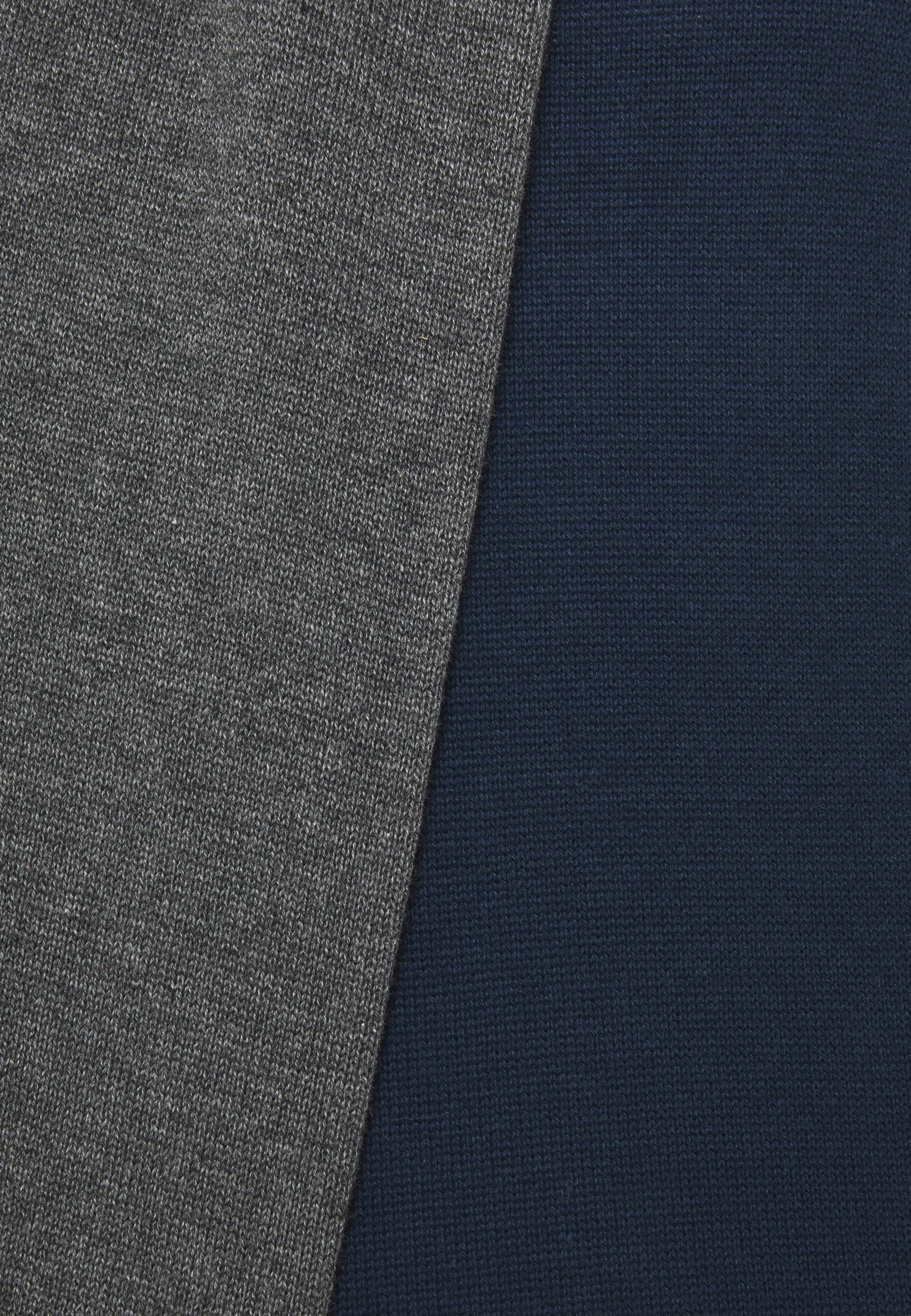 Factory Price New Arrival Fashion Men's Clothing Pier One 2 PACK  Jumper dark blue/mottled dark grey LloAzZZ7i SFM3hP6D9