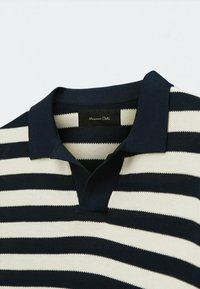 Massimo Dutti - Polo shirt - blue black denim - 4