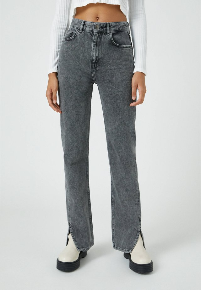 Bootcut jeans - dark grey