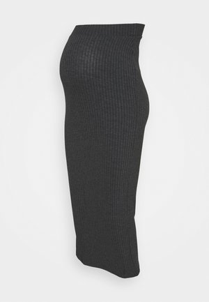 BUMP SKIRT - Maxiskjørt - charcoal