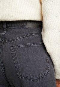 Weekday - LASH EXTRA HIGH MOM ECHO - Jeans fuselé - dark grey - 5