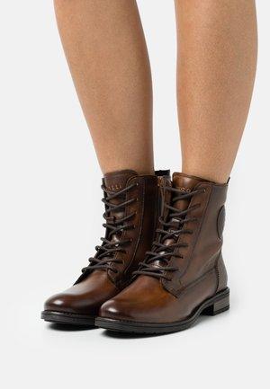 RONJA - Veterboots - dark brown