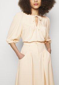 See by Chloé - A-line skirt - macadamia brown - 5