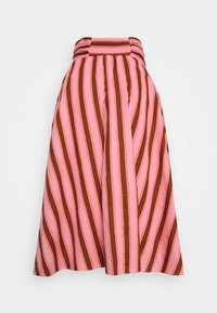 kate spade new york - CALAIS STRIPE SKIRT - Maxi skirt - rosy carnation - 1