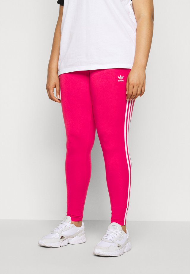 TIGHT - Leggings - Trousers - pink/white