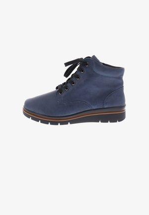 Lace-up ankle boots - blue haze