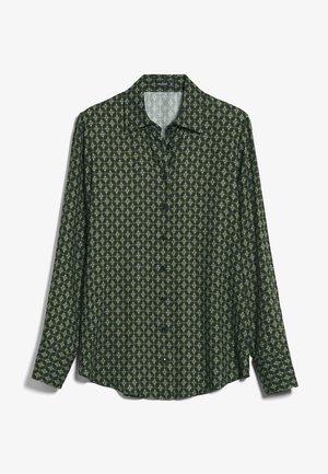 CARRYS - Button-down blouse - grün