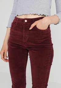 New Look - Trousers - burgundy - 3