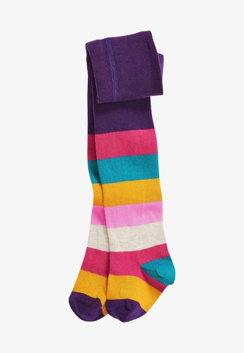 Over-the-knee socks - multi coloured